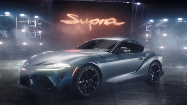 Toyota reboots Supra in pinball-themed commercial