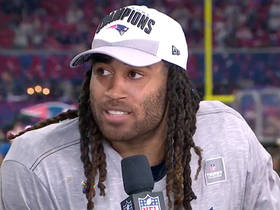 Stephon Gilmore discusses his crucial interception