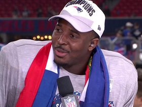 Sony Michel explains why he's wearing Haitian flag after Super Bowl win
