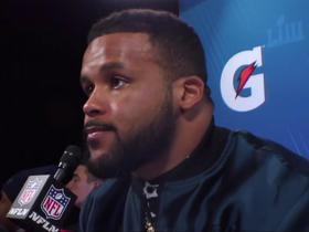Aaron Donald: 'We'll be back' in the Super Bowl