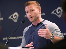 Sean McVay explains usage of Gurley, Anderson in SBLIII