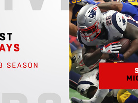 Sony Michel's best plays | 2018 season