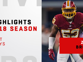 Zach Brown's best plays | 2018 season