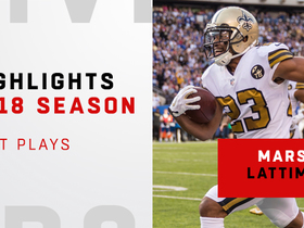 Marshon Lattimore's best plays | 2018 season
