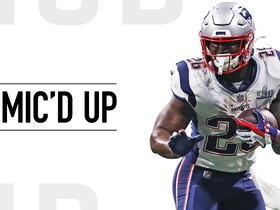 Mic'd Up: Gronk, Michel team up for game's only TD | Super Bowl LIII