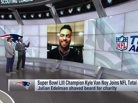 Kyle Van Noy explains why he went over to talk to Gladys Knight at Super Bowl LIII