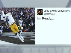 JuJu reacts to A.B. trade with photo of his own TD in Oakland