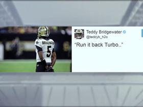 Teddy B announces on Twitter he's returning to Saints