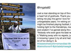 Haloti Ngata announces retirement on top of Mount Kilimanjaro