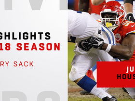 Every sack by Justin Houston | 2018 season