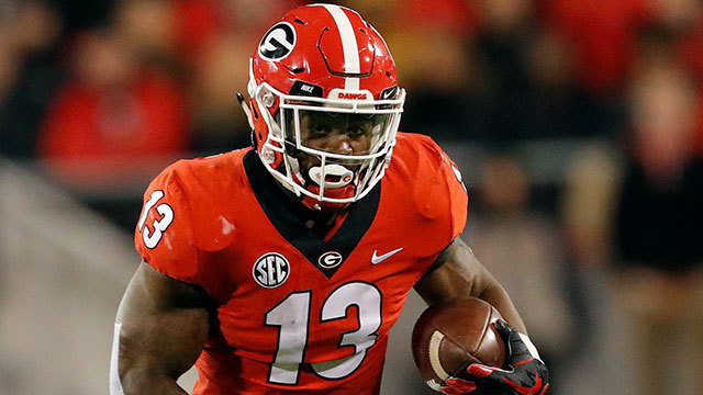 new products e961b 62441 NFL Draft & Combine Profile - Elijah Holyfield | NFL.com