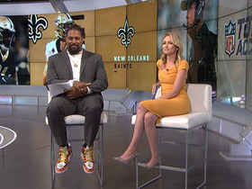 Cam Jordan on his extensive sneaker collection: 'I got issues'