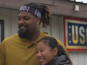 NFL players join USO tour of South Korea