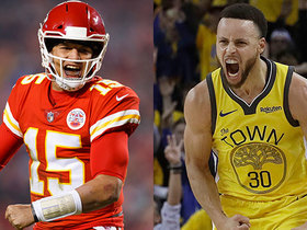 What do Mahomes, Curry have in common? Al Michaels explains