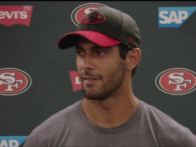 Jimmy G on ACL rehab: 'Every day gets easier'