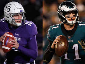 Rapoport: Clayton Thorson may see playing time as Wentz recovers