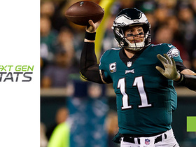 Next Gen Stats: Wentz vs. blitz most impressive part of his game?