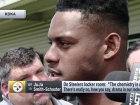 JuJu Smith-Schuster: Steelers' 'chemistry is on point'
