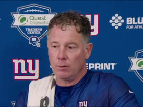 Pat Shurmur: Eli Manning, Daniel Jones 'both very fiery' players