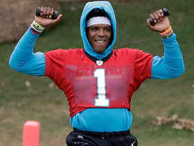 Tiffany Blackmon: Cam Newton is 'working his way back into things'