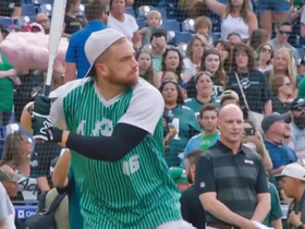 Eagles swing for the fences at Wentz's charity softball game