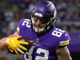 Rapoport: Vikes don't want to address Rudolph situation 'anytime soon'