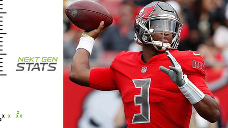 Next Gen Stats: Tampa Bay Buccaneers quarterback Jameis Winston's deep-passing numbers over the years
