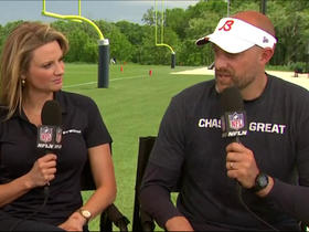 Nagy on kicking competition: 'Trying to create pressure' at practice