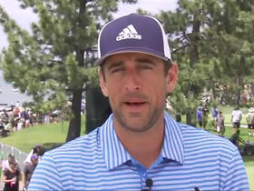 Aaron Rodgers joins the show from golf tournament in Lake Tahoe