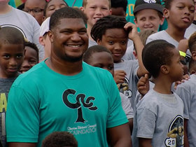 Calais Campbell hosts JaxPAL Football STEM Camp