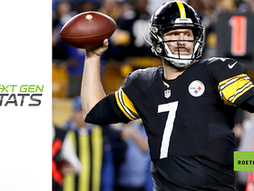 Next Gen Stats: Big Ben's time to throw last three seasons