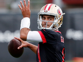 Are 49ers top NFC contenders with Jimmy G healthy?