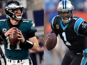 Which QB is more likely to represent NFC in a SB: Carson Wentz or Cam Newton?
