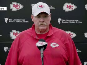 Andy Reid: Damien Williams has 'earned the right' to be Chiefs' starting RB