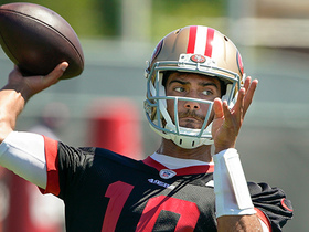 How much of a difference will a healthy Jimmy Garoppolo make for 49ers?