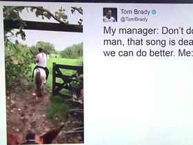 Lil Nas X responds to Tom Brady taking his horse to 'Old Town Road' on Twitter