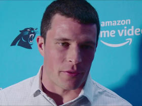 Kuechly, McCaffrey explain what it was like watching 'All or Nothing'