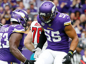 Anthony Barr flies off the edge for sack on first play from scrimmage
