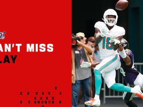 Can't-Miss Play: Preston Williams pirouettes for epic toe-tapping TD