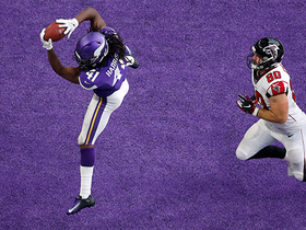 Anthony Harris picks off Matt Ryan for second time in end zone