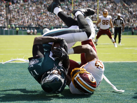Alshon Jeffery overpowers Redskins' defense for physical TD