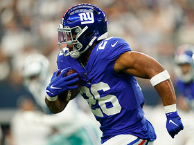 Saquon Barkley hits Cowboys' defense with double spin move