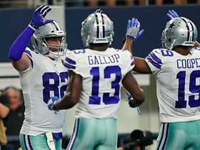 Witten scores TD in first game back with Cowboys