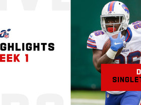 Every touch from Devin Singletary's rookie debut | Week 1