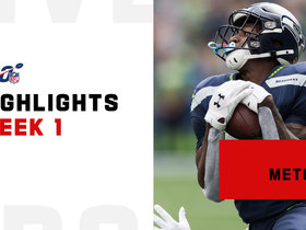 Every catch from D.K. Metcalf's rookie debut | Week 1