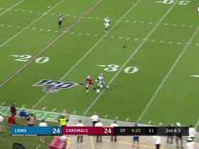 Can't-Miss Play: Kyler launches 45-YARD precision strike to Fitzgerald
