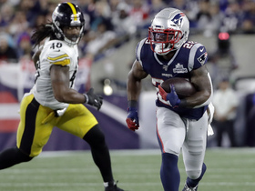 James White gains 32 yards on Julian Edelman throw-back pass