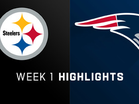 Steelers vs. Patriots highlights | Week 1