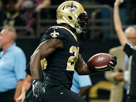 Latavius Murray hits turbo for first TD run with Saints