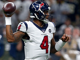 Deshaun Watson's pump fake helps set up 15-yard dart to Will Fuller